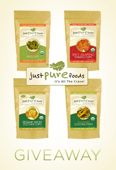 LadyLUX + Just Pure Foods Giveaway