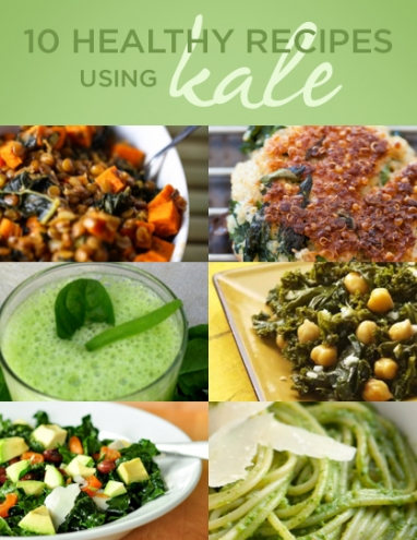 Wellness Wednesday: 10 Healthy Recipes Using Kale