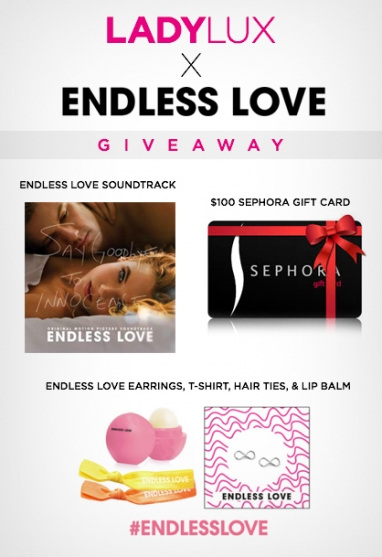 GIVEAWAY: Enter to Win a $100 Sephora Gift Card and Endless Love Prize Package