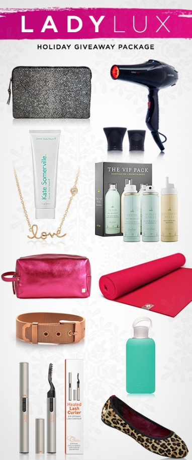 Joyously LUX: LadyLUX Partners with 35 Brands for YOU this Holiday Season!