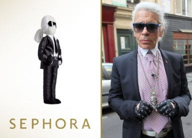 Karl Lagerfeld teams up with Sephora for capsule beauty line