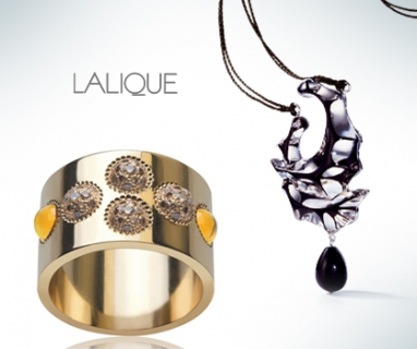 Lalique's new fine jewelry line inspired by the elements of nature