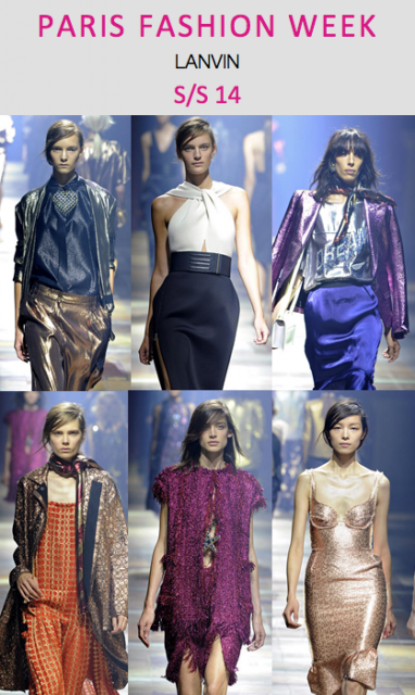 Paris Fashion Week: Lanvin S/S 14