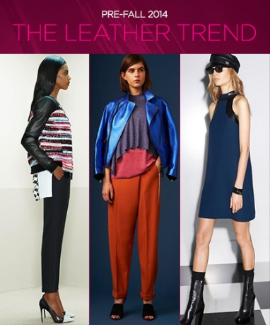 Pre-Fall 2014: Leather Trends
