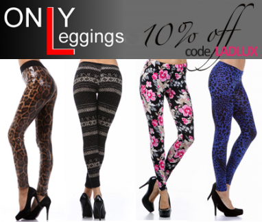 World of Leggings celebrates its opening with giveaway & discount to LadyLUX readers