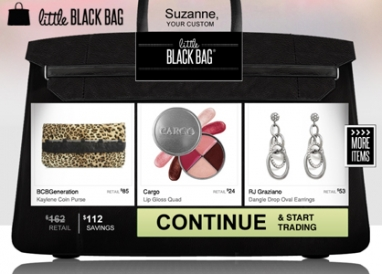 Little Black Bag offers new shopping concept