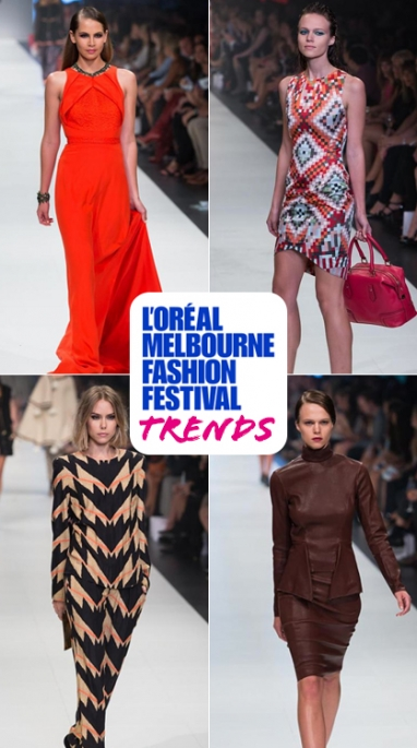3 Takeaway Trends from L'Oreal Melbourne Fashion Festival