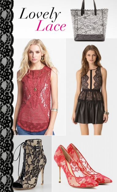 LUX Style: Lovely Lace