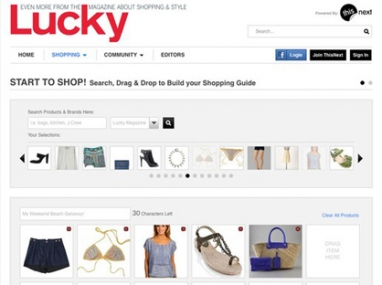 ThisNext and Lucky magazine team up for new online shopping experience