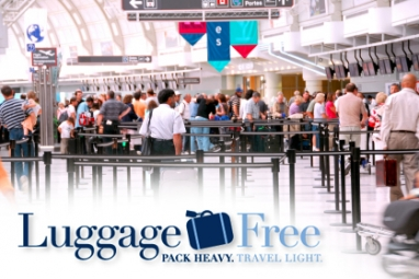 Luggage Free shipping service offers relief from airport luggage hassles