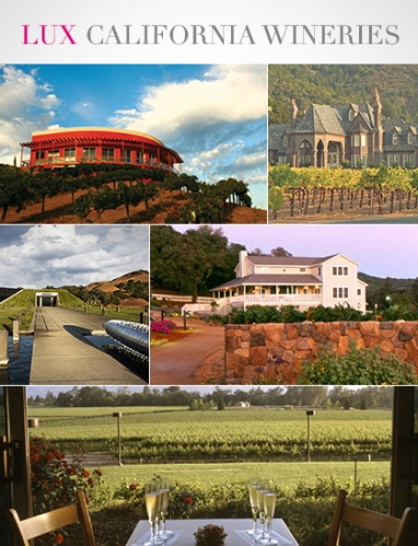LUX Travel: Top 5 California Wineries