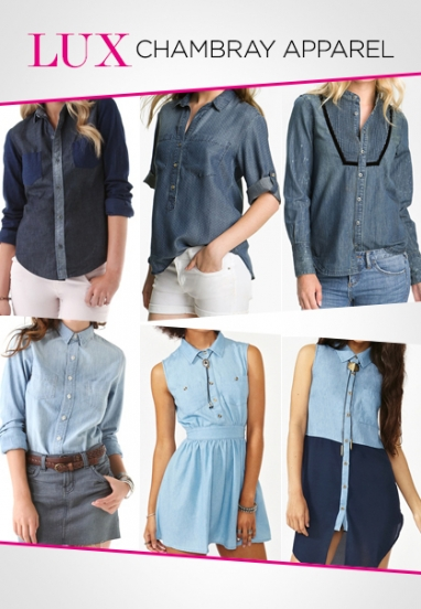 LUX Style: Chic Chambray