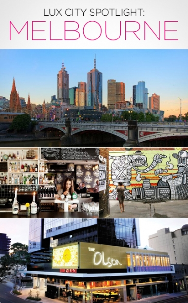 LUX City Spotlight: Melbourne