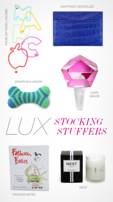 LUX Holiday: Stocking Stuffers
