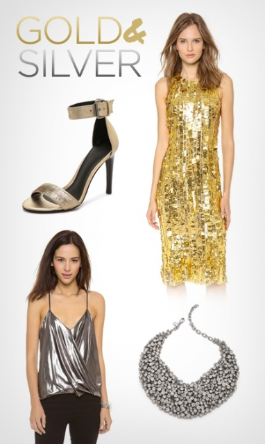 LUX Style: Gold & Silver