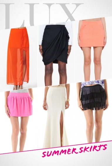 LUX Style: Summer Skirts