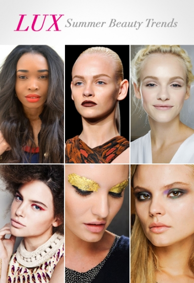 LUX Beauty: Summer 2012 Beauty Trends