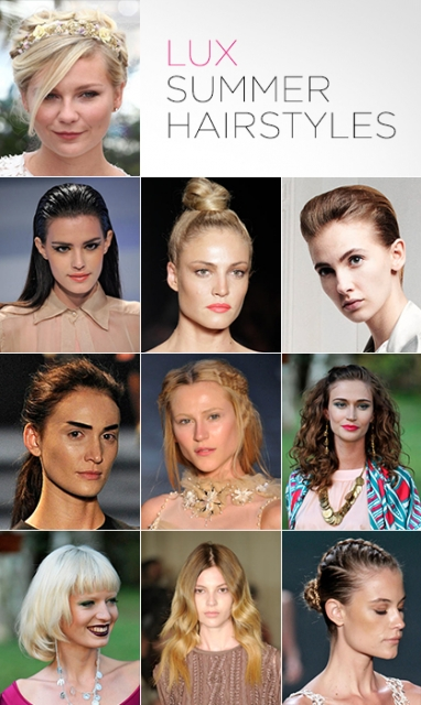 LUX Beauty: Top 10 summer hairstyles