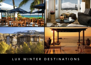 LUX Travel: Winter Destinations