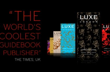 LUX Travel:  The GORGEOUS LUXE Guides NOW Available Online