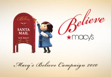 Macy's gives children reason to believe
