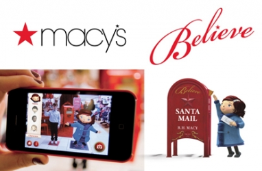 Macy's Believe campaign invites customers to mail letters to Santa for a cause