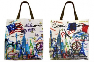 Eco Radar: Malandrino totes, nontoxic ink & jewelers go green