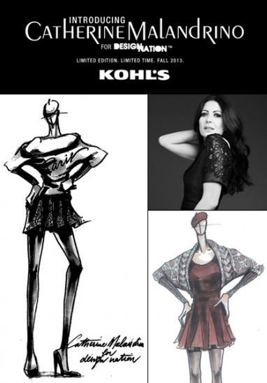 Kohl's Reveals Catherine Malandrino as New Collaboration