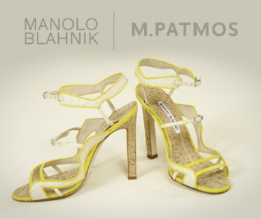 Marcia Patmos and Manolo Blahnik release environmentally friendly shoes
