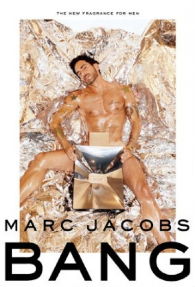 Radar: Marc Jacobs poses in Bang campaign