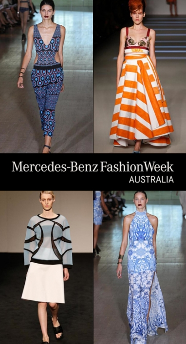 3 Top Designers Show at Mercedes Benz Fashion Week Australia