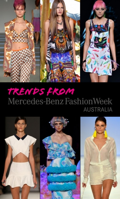 Top 5 Trends from Mercedes-Benz Fashion Week Australia