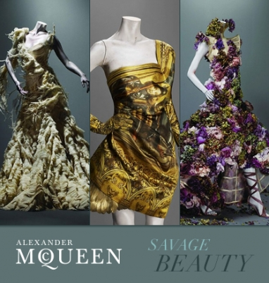 Inside glimpse of Alexander McQueen's 'Savage Beauty' exhibit
