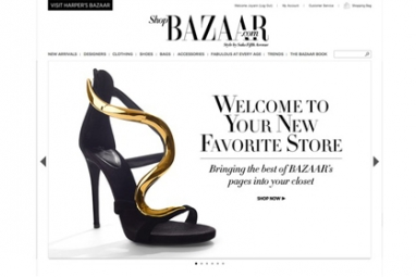 Harper's Bazaar launches ShopBazaar