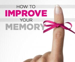 Here's How to Improve Your Memory