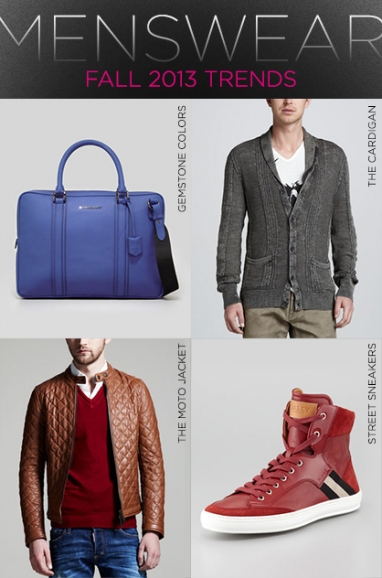 In-Store Now: Men's Pre-Fall 2013 Trends