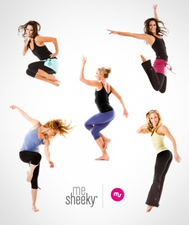 meSheeky's yoga-inspired active wear gets vibrant for Spring