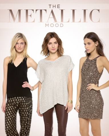 Get the Look: The Metallic Mood