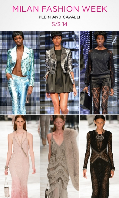 Milan Fashion Week: Philipp Plein and Roberto Cavalli S/S 14
