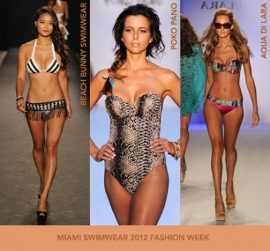 Miami Swim Fashion Week 2012: Color and materials wrap-up