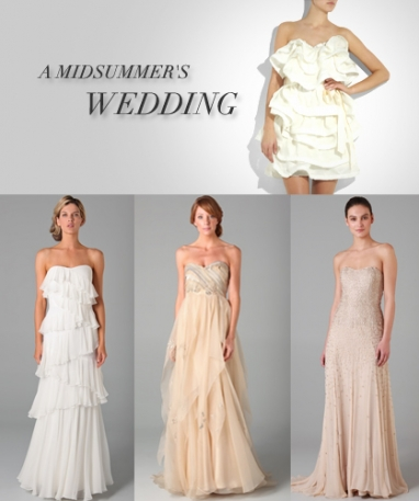 LUX Style: A Midsummer's Wedding