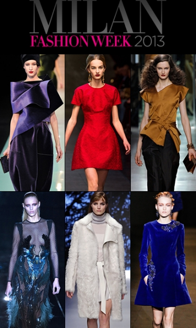 Milan Fashion Week 2013 Wrap Up