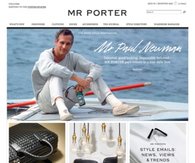 Meet Mr Porter: designer shopping for men