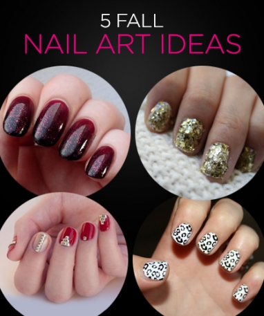 5 Festive Fall Nail Art Ideas