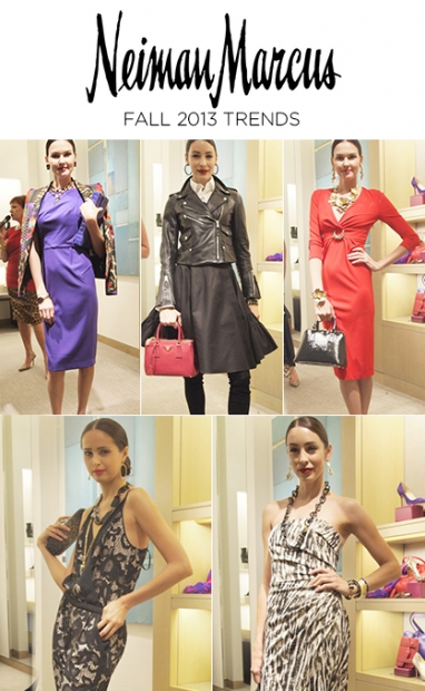 Neiman Marcus Fall 2013 Trends