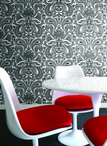 11 Fantastic Bold Wallpaper Prints