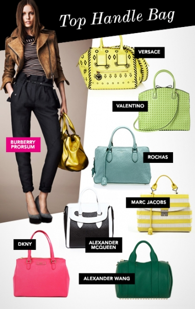 Resort 2013 must-have handbag trends
