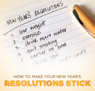 Wellness Wednesday: 5 Ways to Make Your New Year's Resolutions Stick