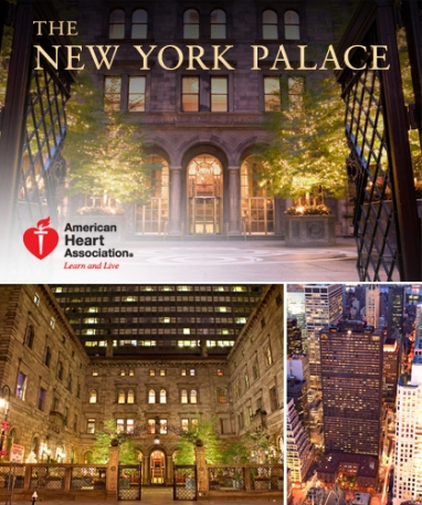 Luxury hotel package benefits American Heart Association