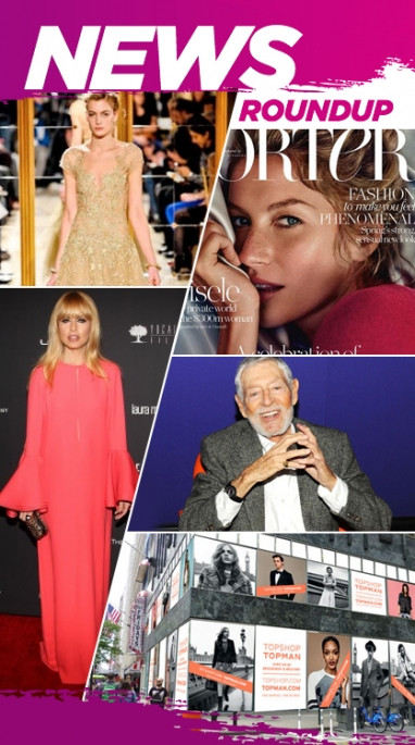 Week In Review: Rachel Zoe Cancels NYFW Show, Topshop Expansion & Revlon x Marchesa
